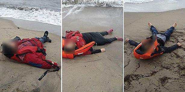Тела 21 беженца были обнаружены на берегах Турции