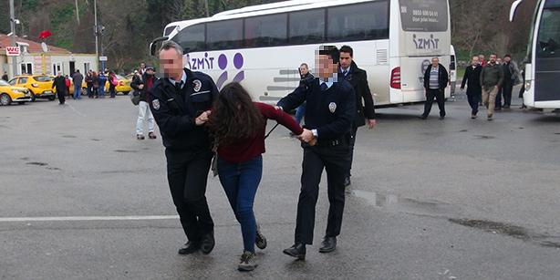 Двух девушек задержали за эмблему РПК на телефоне