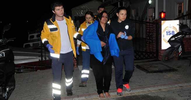 Затонувшее судно с беженцами: 5 жертв