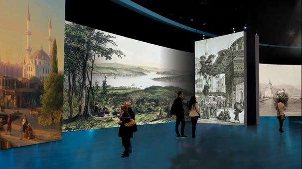 Увидеть Стамбул 200-летней давности можно в Морском музее