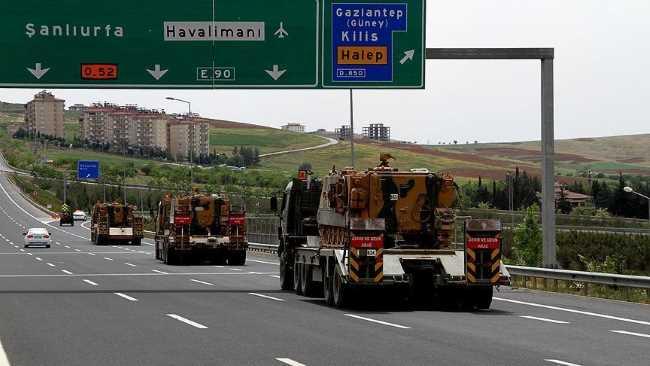 Турция увеличивает военную мощь в Килисе