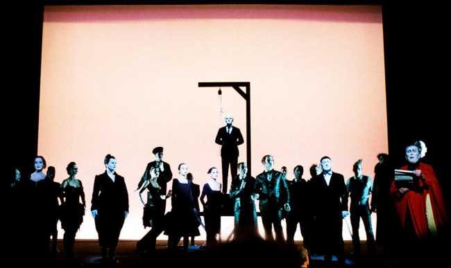 «Трёхгрошовая опера» в Стамбуле 13-14 мая