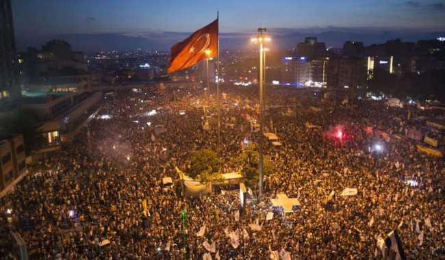 Эрдоган: «Мы начнем строительство в парке Гези»