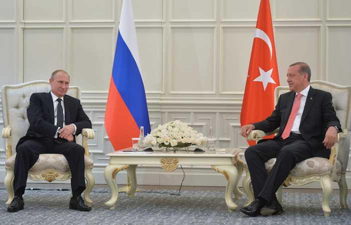 Эрдоган обсудил с Путиным ряд важных тем