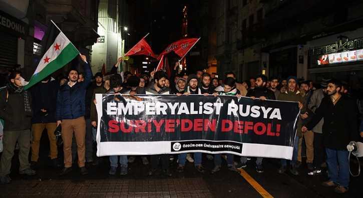 В Анкаре пикетировали российское посольство
