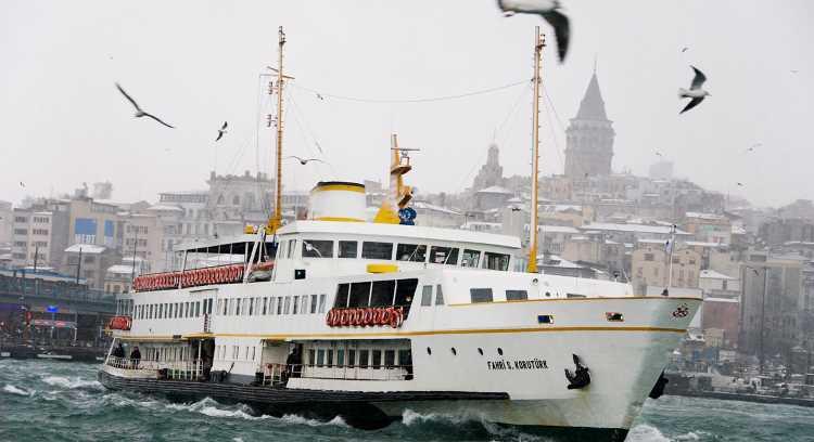 Проезд на пароме через Босфор будет стоить 5 куруш
