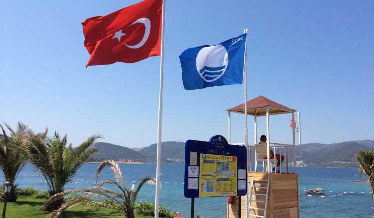Турция увеличила количество пляжей с «голубым флагом»