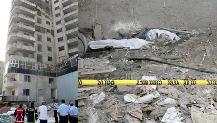 Лопнувший трос оборвал жизни двух строителей