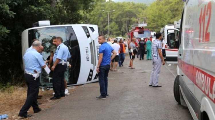 В ДТП пострадали граждане РФ, Казахстана и Турции
