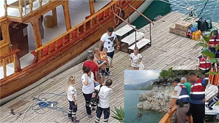 Тело пропавшего в Анталии туриста обнаружено спасателями