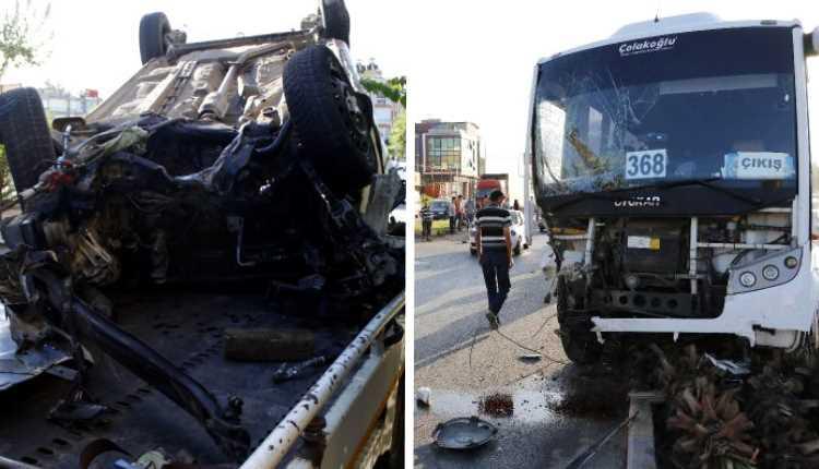 12 российских туристов пострадали в ДТП в Анталии