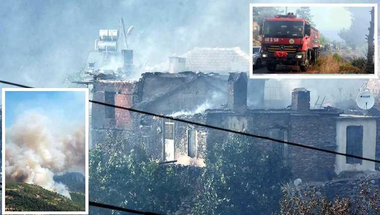 Пожар уничтожил целый поселок в Мугле