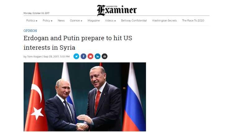 Эрдоган и Путин готовятся нанести удар по США в Сирии