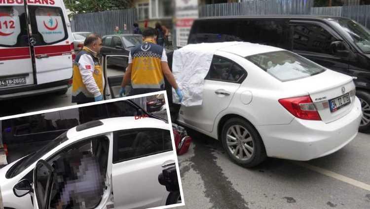 В Стамбуле в машине обнаружен труп женщины