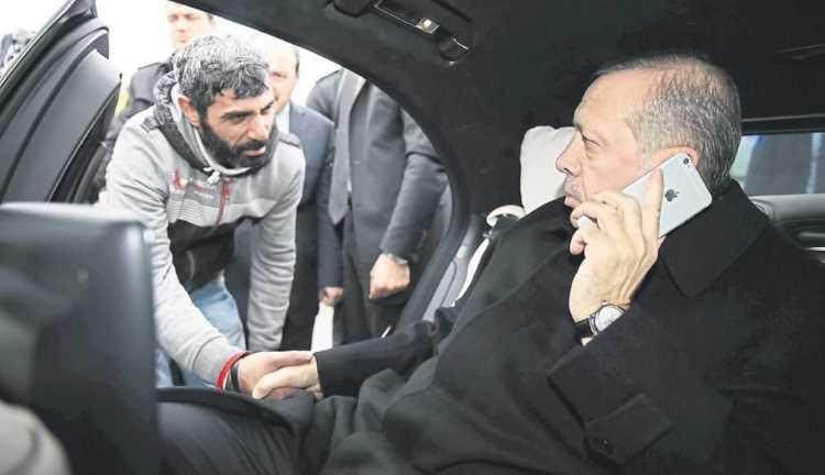 Спасенный Эрдоганом самоубийца задушил и поджег человека