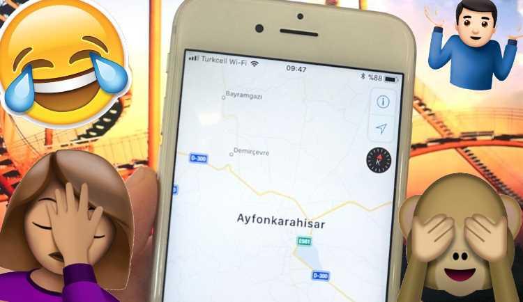 Компания Apple переименовала город в Турции