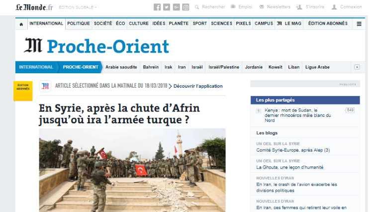 Куда направится турецкая армия после взятия Африна?