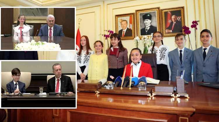 23 апреля Турцией «руководят» дети