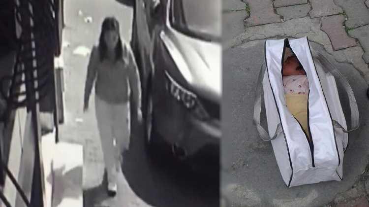 Полиция разыскивает мать, оставившую младенца на улице