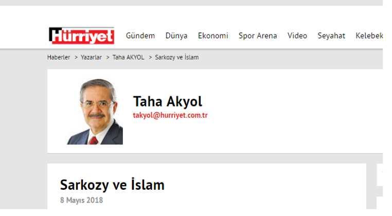 Саркози и ислам