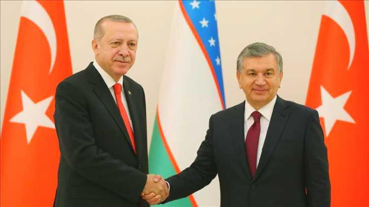 Президент Турции находится с визитом в Узбекистане