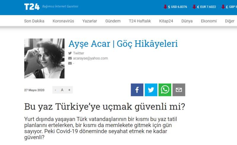 Безопасно ли лететь в Турцию этим летом?