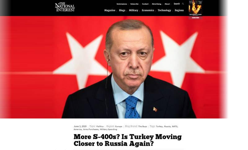 Еще больше С-400? Неужели Турция снова сближается с Россией?