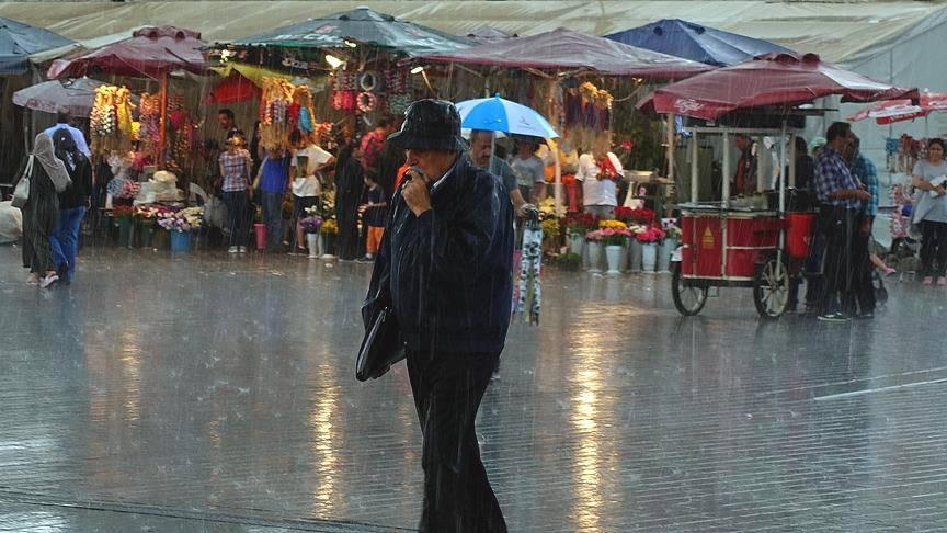 Дождливая погода не покинет Турцию до конца недели