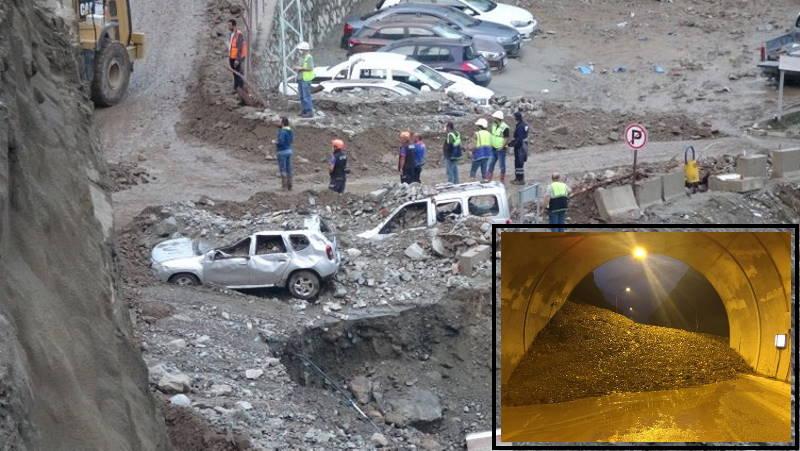 Оползень в Артвине: 1 погибший, 3 пропавших