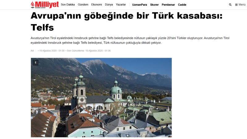 Турецкий городок в самом сердце Европы: Тельфс