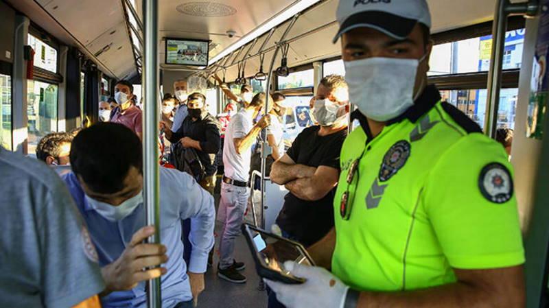 Какие меры необходимо соблюдать в общественном транспорте?