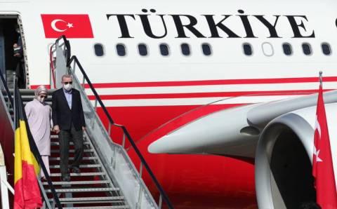 Эрдоган отправился в США на Генассамблею ООН