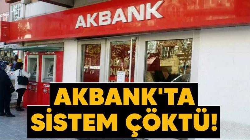 Электронная система Akbank не работает второй день