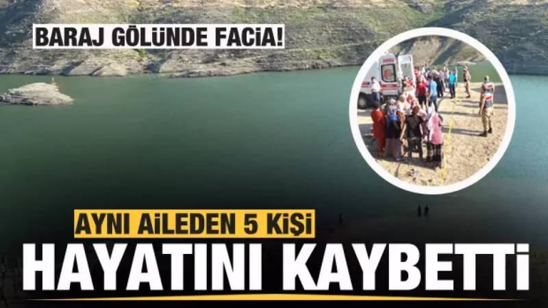 5 человек из одной семьи утонули в водохранилище