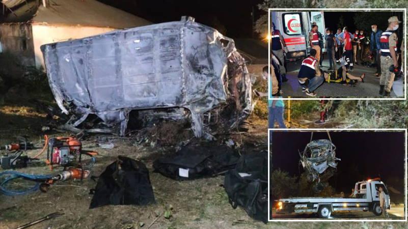 Переполненный микроавтобус попал в ДТП: 12 погибших, 20 пострадавших