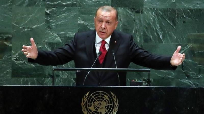 Эрдоган выступил на Генассамблее ООН