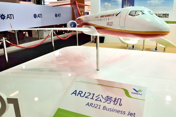 ARJ21 Business jet