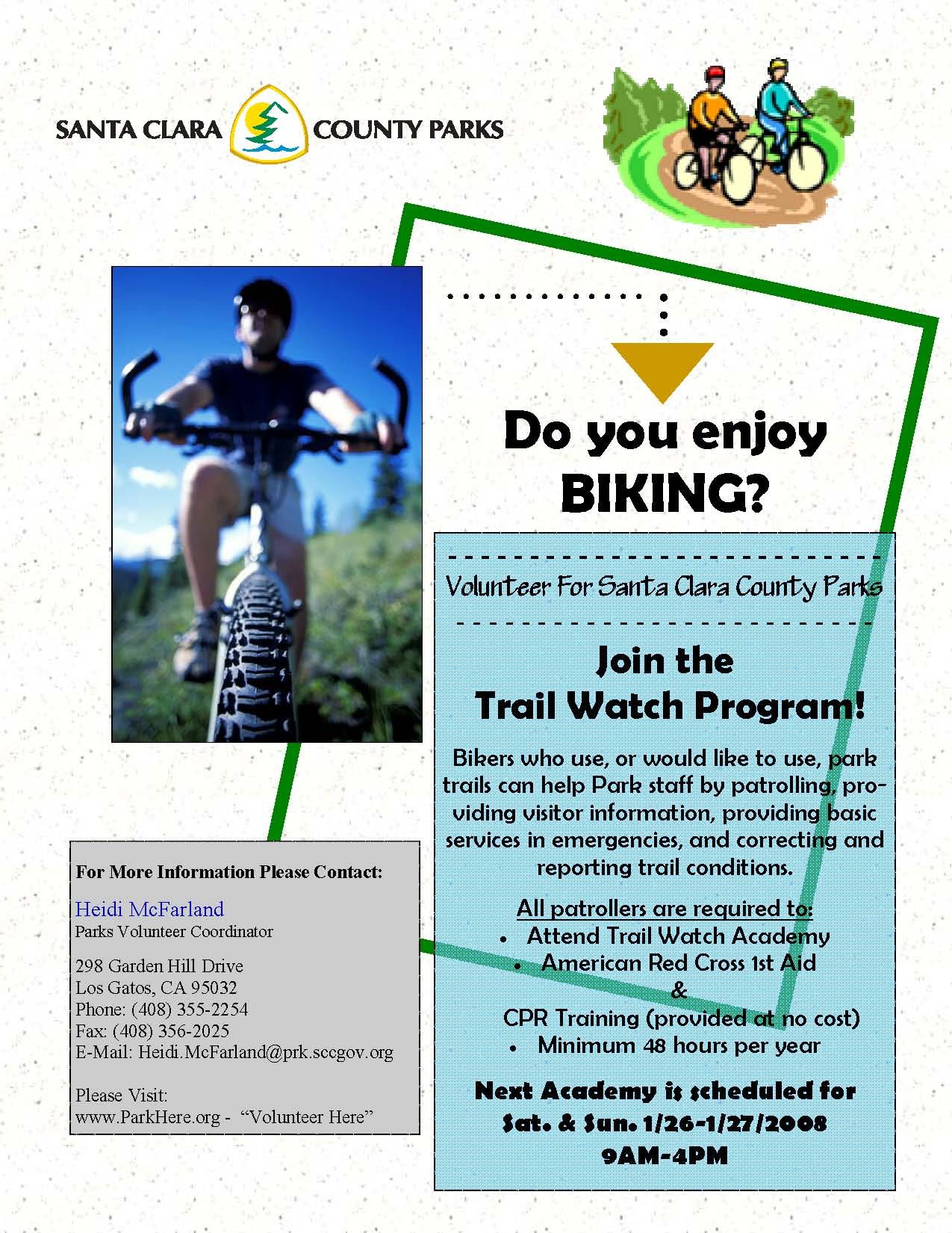 Trail Watch Bike Flyer