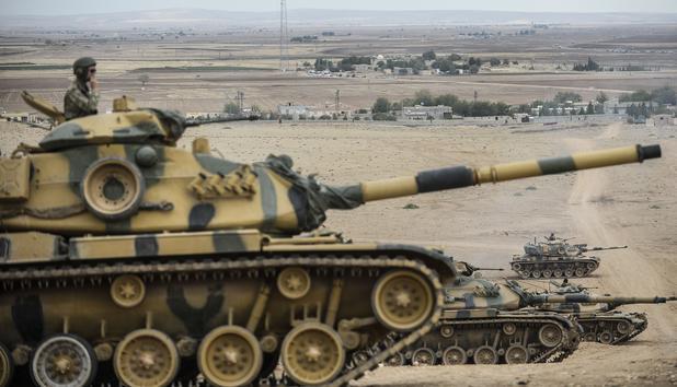 Gefährliches Unterfangen - Türkei rüstet sich<br /> für Kampf gegen IS