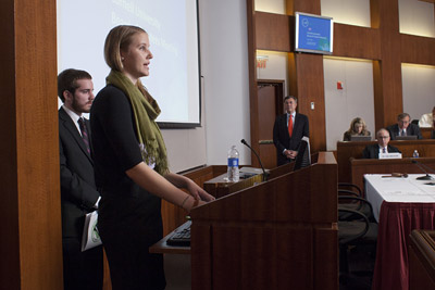 students address board of trustees