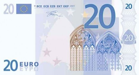 €20 cash