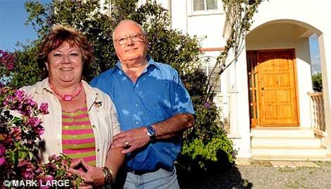 Linda and David Orams (source: Daily Mail)