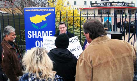 Conor O'Dwyer's protest