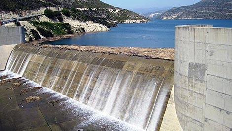 kouris dam and reservoir