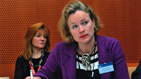Vicky Ford MEP quesions Cyprus Title Deeds in European Parliament