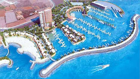 ayia napa marina twin towers