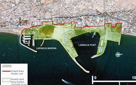 Larnaca port marina
