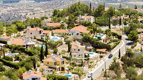 New homes in Cyprus