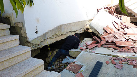 Pissouri landslide: the living hell