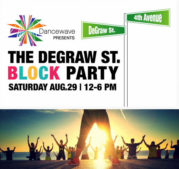 YOU ARE INVITED: Dancewave's End of Summer Block Party at DeGraw Street on Saturday, August 29 | 12-6pm